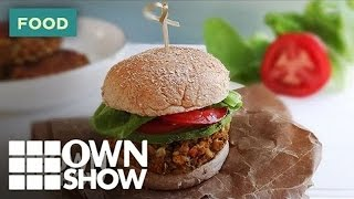 A Veggie Burger Light Years Ahead Of The Frozen Kind | #ownshow | Oprah Winfrey Network