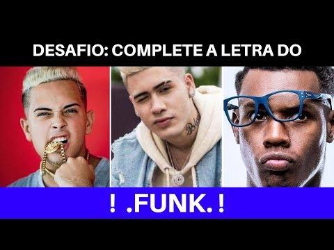 DESAFIO: Complete o FUNK Mc Kekel Kevinho Mc G15   1