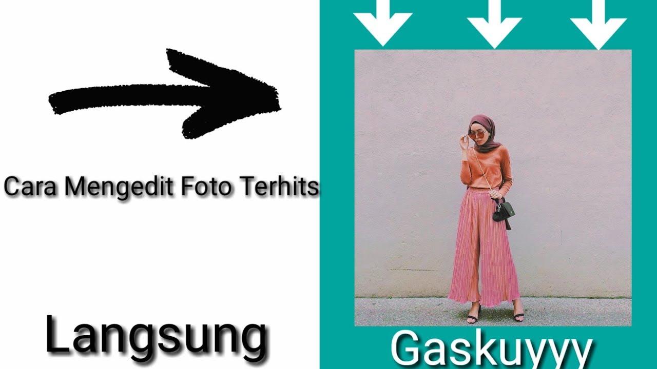 Cara mengedit foto menggunakan VSCO....Pecah abis dahhh ...