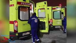 Смотреть видео На самолёте МЧС в Петербург   тяжелобольных человек на лечение в Санкт-Петербург  и Нижний Новгород онлайн
