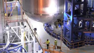 Moving, Moving, Moving: A Giant Rocket Fuel Tank