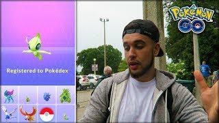 CATCHING A 98% CELEBI! NEW MYTHICAL POKÉMON! (Pokémon GO)
