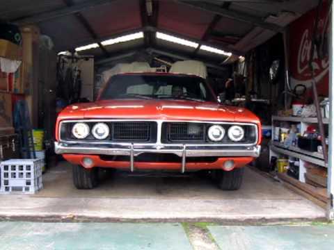 1969 Dodge Charger Headlight Doors Youtube