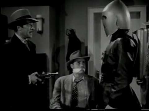 KING OF THE ROCKET MEN 1949  Cliffhanger 11  Tristram Coffin, Mae Clarke, Don Haggerty