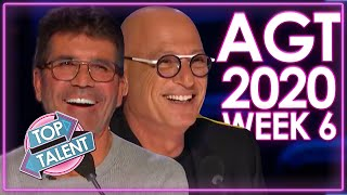 America's Got Talent 2020 AUDITIONS! | WEEK 6 | Top Talent