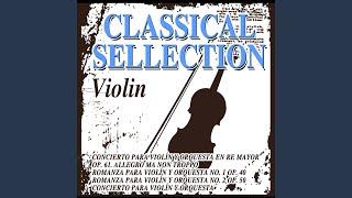 Rondo para Violín y Orquesta de Cuerdas en La Mayor. Adagio-Allegro giusto