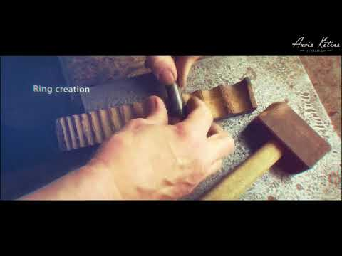 How gold wedding ring is made/ Inside of latvian jeweler workshop