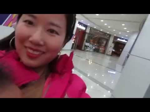I will show you around a shopping mall in South Korea.