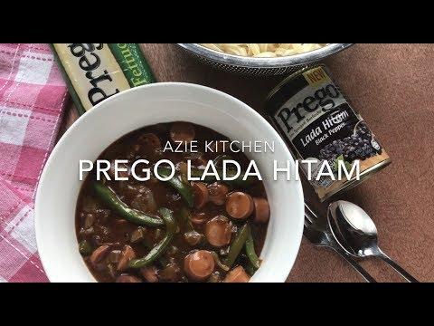 Pasta Sos Lada Hitam Prego