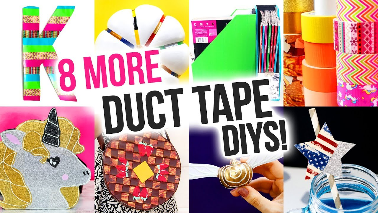 8 Easy Duct Tape Diy Ideas