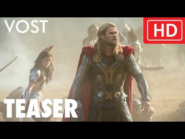 Thor : Le Monde des Ténèbres - Bande-annonce teaser VOST -- Marvel   HD