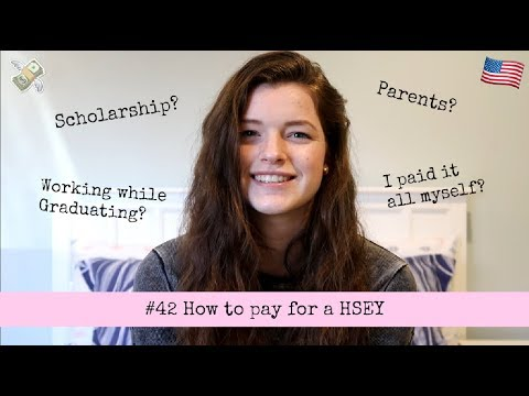 #42 How to pay for a HSEY // EXCHANGE YEAR USA 2017/2018