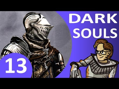 Let's Play Dark Souls Part 13 - Covenant of Artorias, New Londo Ruins, Key to the Seal