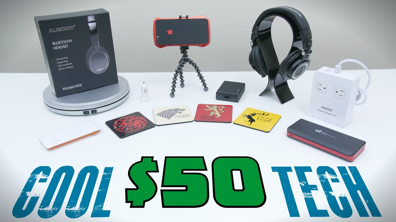 cool tech under 50 july youtube