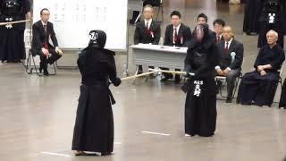 平成30年 東京剣道祭 教士八段の部 岩佐英範先生(警視庁)対矢野雅之先生(西東京)