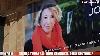 Second tour des Municipales à Aix : trois candidats, quels soutiens ?