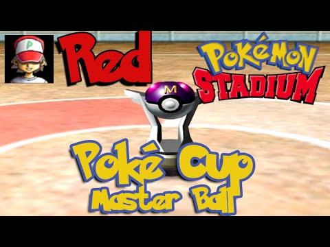 Pokémon Stadium - Poké Cup - Master Ball Complete