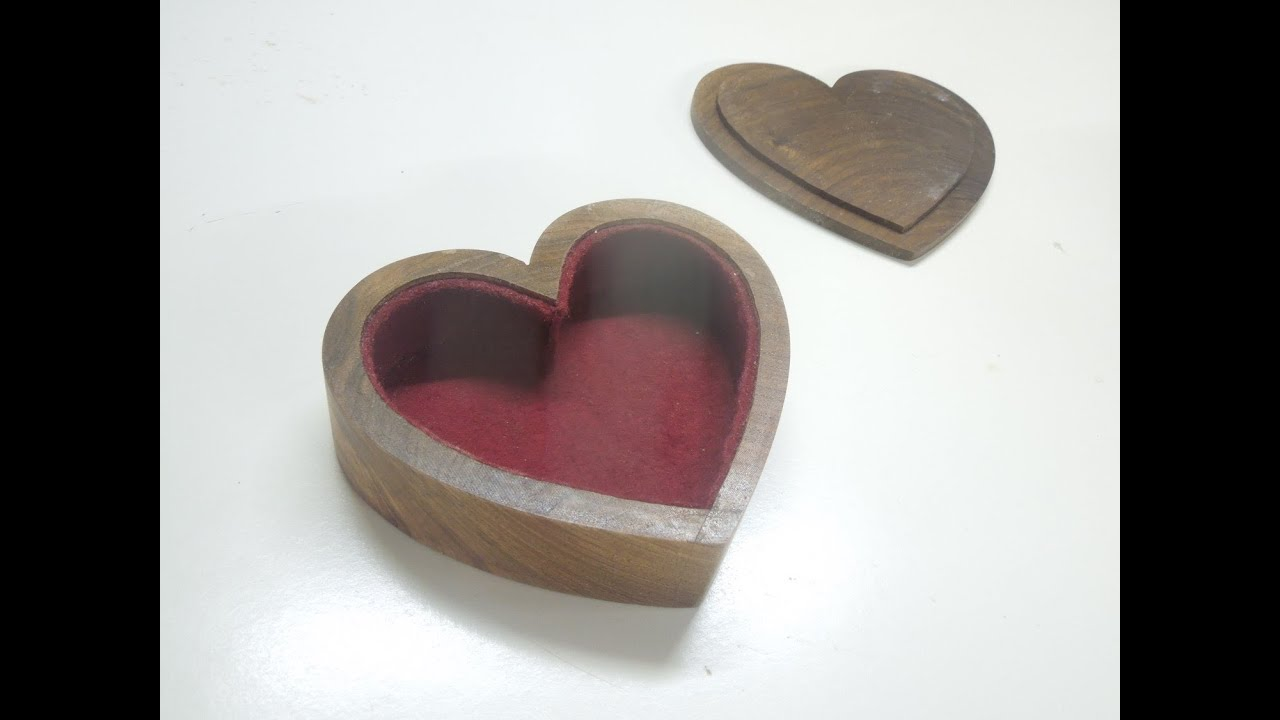 Heart Shaped Bandsaw Boxes Youtube