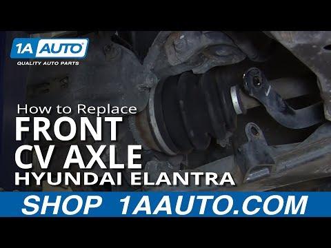 How to Replace Front CV Axle 01-06 Hyundai Elantra
