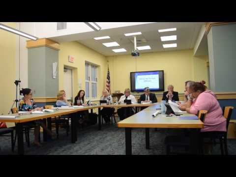 Dover Board Of Education 06/27/17 Part 1