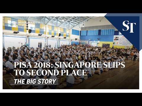 Singapore slips to second place for Pisa 2018 | THE BIG STORY | The Straits Times