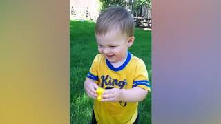 TRY NOT TO LAUGH #749  FUNNY BABY OUTDOOR MOMENTS VIDEO COMPILATION