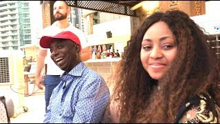 Regina Daniels amp Prince Ned Nwoko Dinner Quickly Transforms Into A DaddyFreeze Interview