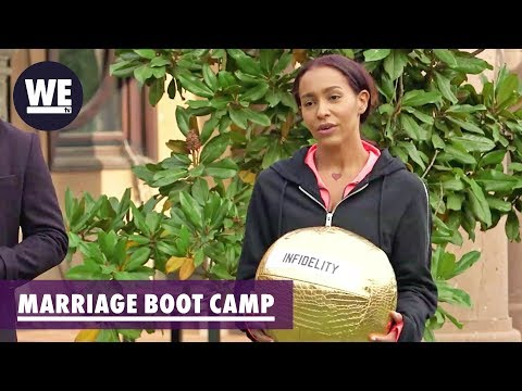 Amina's Blame & Peter's Shame | Marriage Boot Camp: Reality Stars | WE tv