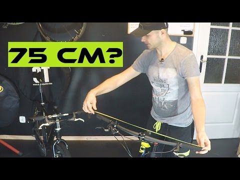The Greatest Myths About Wide Bars On XC / MTB Marathon Bike... How Wide The  Bar Should Be?