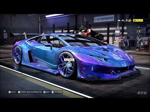 Need for Speed Heat - Lamborghini Huracan 2018 (Lamborghini BodyKit 2) - Customize | Tuning Car HD