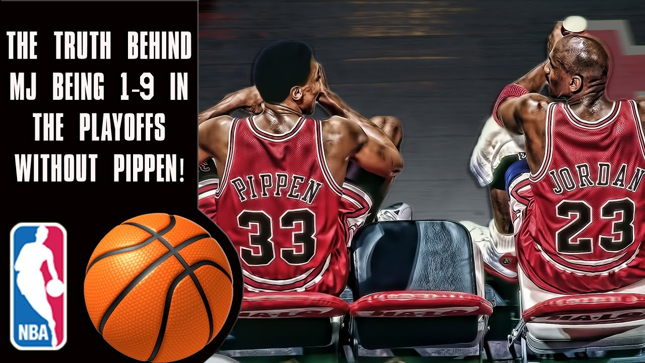 35571925feca The truth behind Michael Jordan s 1-9 playoff record before Scottie Pippen!