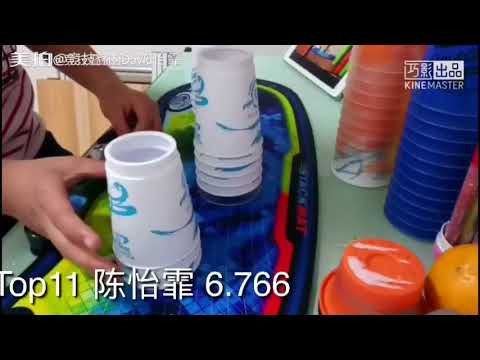 Sport Stacking: Top 20 cycle of China