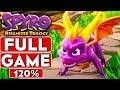 SPYRO REIGNITED TRILOGY Full Game 120% Walkthrough (Spyro The Dragon ALL Dragons, Gems & Eggs)