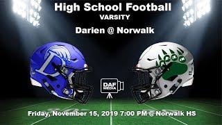 Darien Varsity Football vs. Norwalk