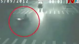 """Real Ghost Caught on Highway"" CCTV Visuals"