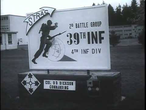 4th Infantry Division at Fort Lewis, Washington
