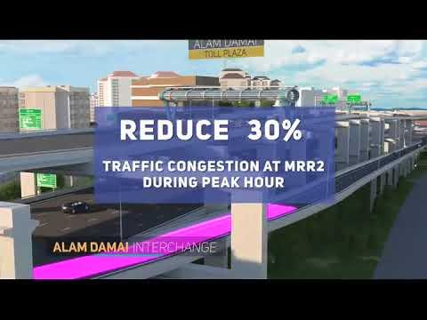 SUKE Highway - Sungai Besi Ulu Kelang Elevated Expressway 3D Flythrough