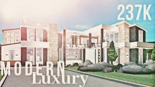 Roblox | Bloxburg | Modern Luxury Mansion
