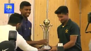 Pre-Series Media Conference, Pakistan U19 tour of Sri Lanka