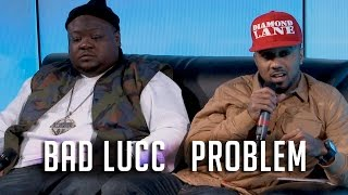 Problem + Bad Lucc on YG Beef, Justice or Else & New Music!(Problem & Bad Lucc drop by and talk to Nessa about New Music, YG Beef, Family, Justice or Else & More! CLICK HERE TO SUBSCRIBE: http://bit.ly/12lN6vb ..., 2015-11-03T08:36:28.000Z)