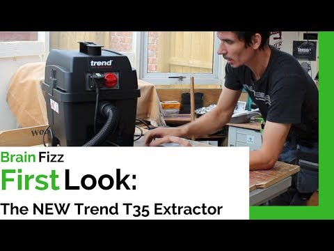 Unboxing & first impressions of the NEW RELEASE T35 M Class extractor shop vac from Trend routing