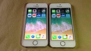 Iphone 5s  ios 11.2.2 vs ios 11.2.1 #benchmark# !