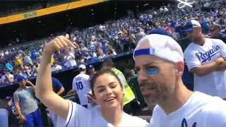 June 7: Selena at the Big Slick Celebrity Softball Game. ♥️ #selenagomez