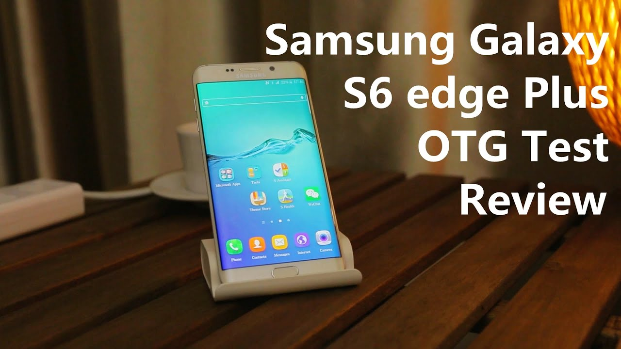 Samsung Galaxy S6 Edge Plus Feature: USB OTG Test Review 2015 - YouTube