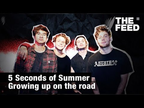 5 Seconds of Summer: Growing up on the road