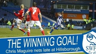 Last-minute stunner! | Chris Maguire wins it at the last! | SWFC v Barnsley