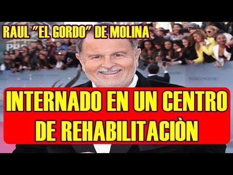 """RAUL """"EL GORDO"""" DE MOLINA se va de SU CASA para INTERNARSE en un CENTRO de RE HABILITACIÒN"""