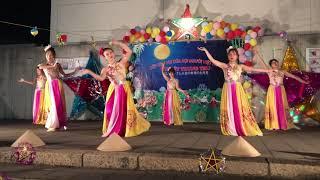 Chào Việt nam - co giáo dạy múa Thanh Hoa cung voi các bạn trong lớp học tiếng viet Kobe biểu diễn