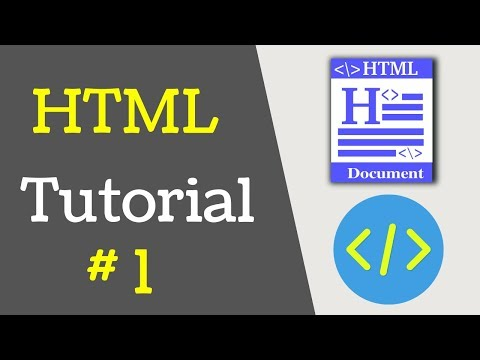 Html Tutorial For Beginners   Simple Html Page In Brackets