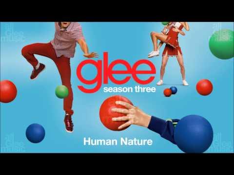 Human Nature | Glee [HD FULL STUDIO]